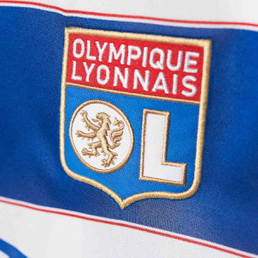 d4469a8b White shorts and white socks complete the new Olympique Lyonnais 2015-2016  Home Kit.