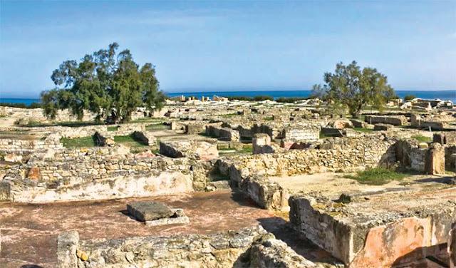 المقابر البونية بولاية نابل تونس