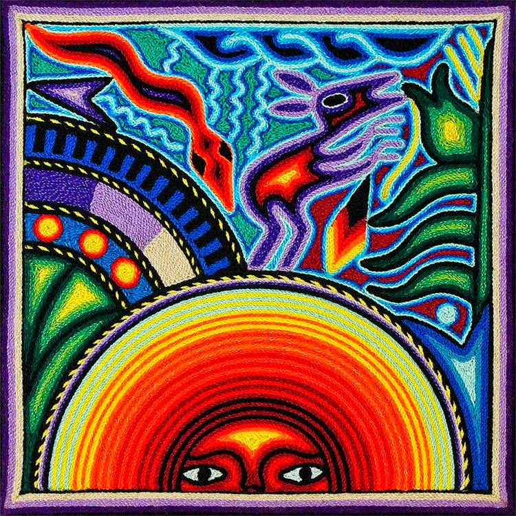 We Care Arts: Mexican Yarn Painting