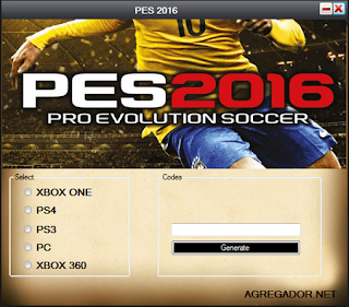 PES 2016 Product Code Generator | Game Activation Keys
