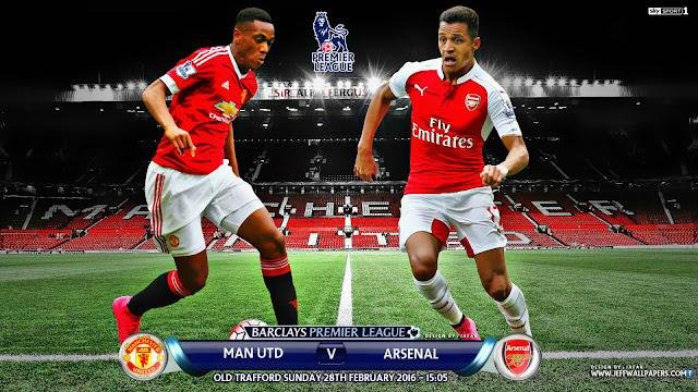 Manchester United x Arsenal - Premier League 2016 - Data, Horário e TV