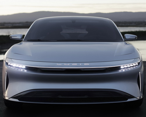 www.Tinuku.com Lucid Air electric cars by Lucid Motors luxury design, high tech, 1000 horsepower and 400 miles range