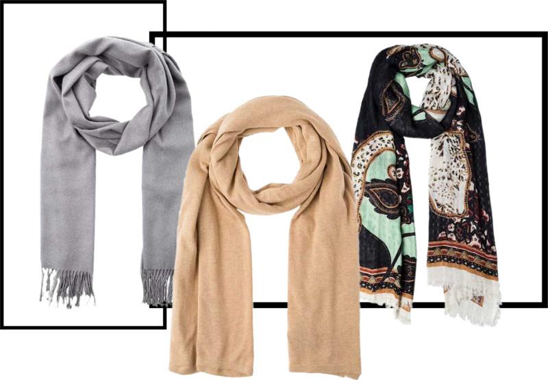 must have na zimę, ubrania na zimę, zimowe szale