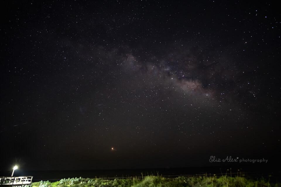 Mustang Island Milky Way