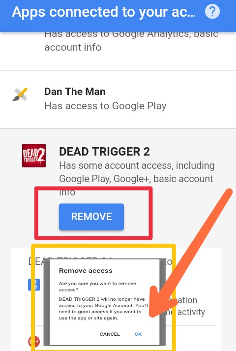 how to remove google drive apps