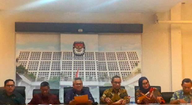 KPU RI Coret 11 Partai Politik di Pemilu 2019