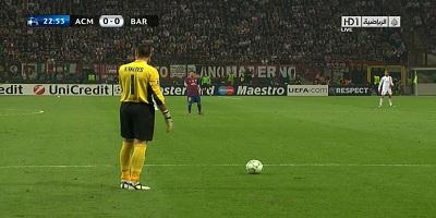 UEFA-8 : Milan 0 vs 0 Barcelona 28-03-2012
