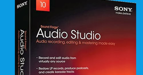 Sony Sound Forge Audio Studio 10  license