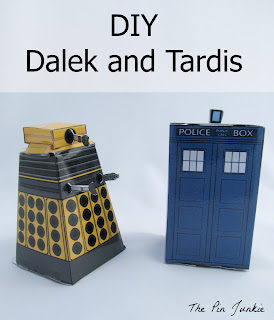 diy dalek tardis doctor who