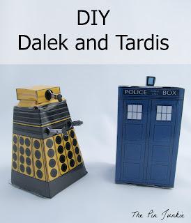 diy dalek tardis doctor who