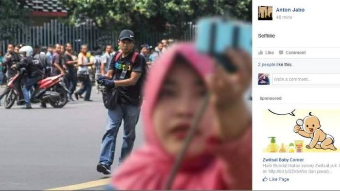 Teror Selandia Baru Wikipedia: Foto Tingkah Lucu Orang Indonesia Tidak Takut Teroris