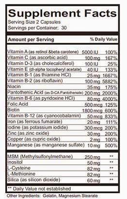 Hair Formula 37 vitamin