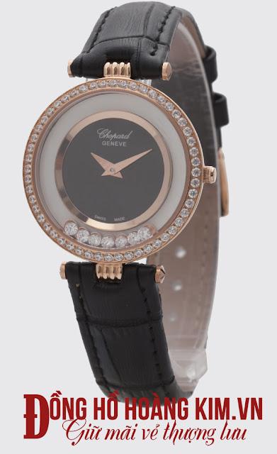 Đồng hồ nữ Chopard dây da giá rẻ dưới 2 triệu tại Hà Nội