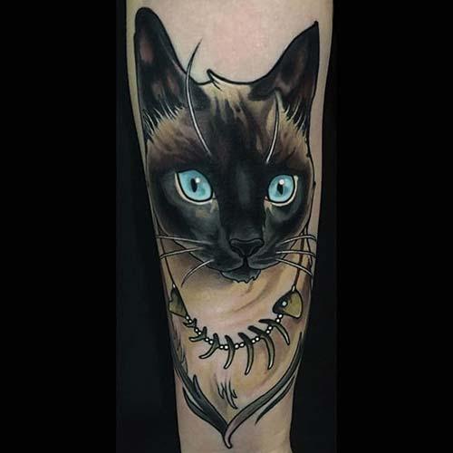 kedi dövmeleri cat tattoos 15