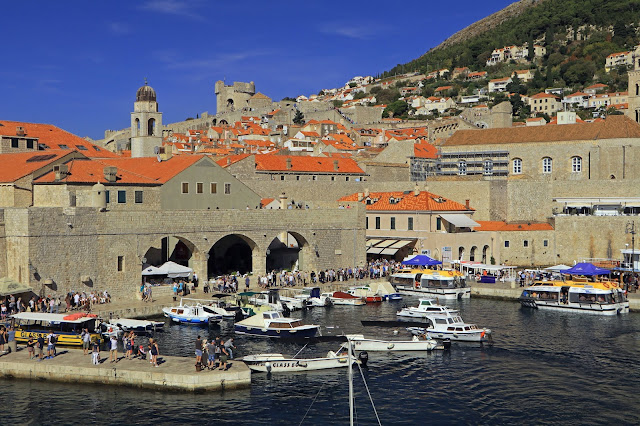 Buy Wall Art of Dubrovnik Old Town Port