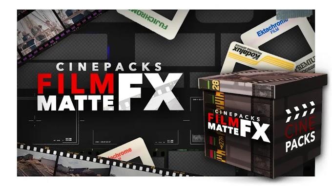 CinePacks – Film Matte FX