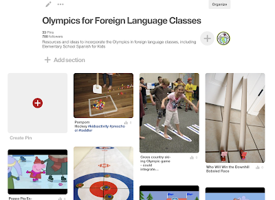 Incorporating the Olympics in Foreign Language Class
