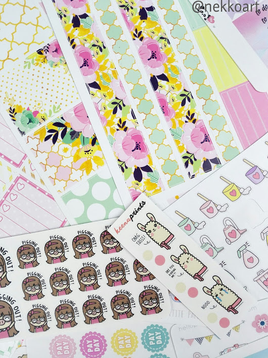 Planner & Etsy Sticker Shop Haul