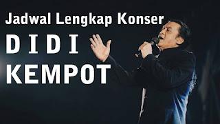 Jadwal Terbaru Konser Didi Kempot