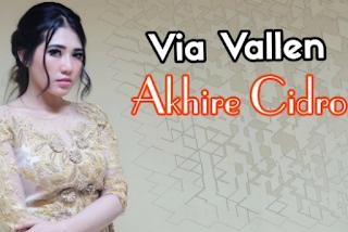 Via Vallen Akhire Cidro Mp3