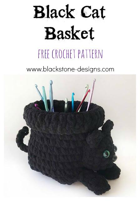 Chunky Crochet Basket Pattern & Tutorial - Easy Crochet | 640x448