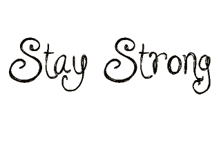 Stay Strong: Stay Strong em PNG