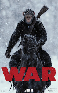 War for the Planet of the Apes promo art and 1st movie trailer