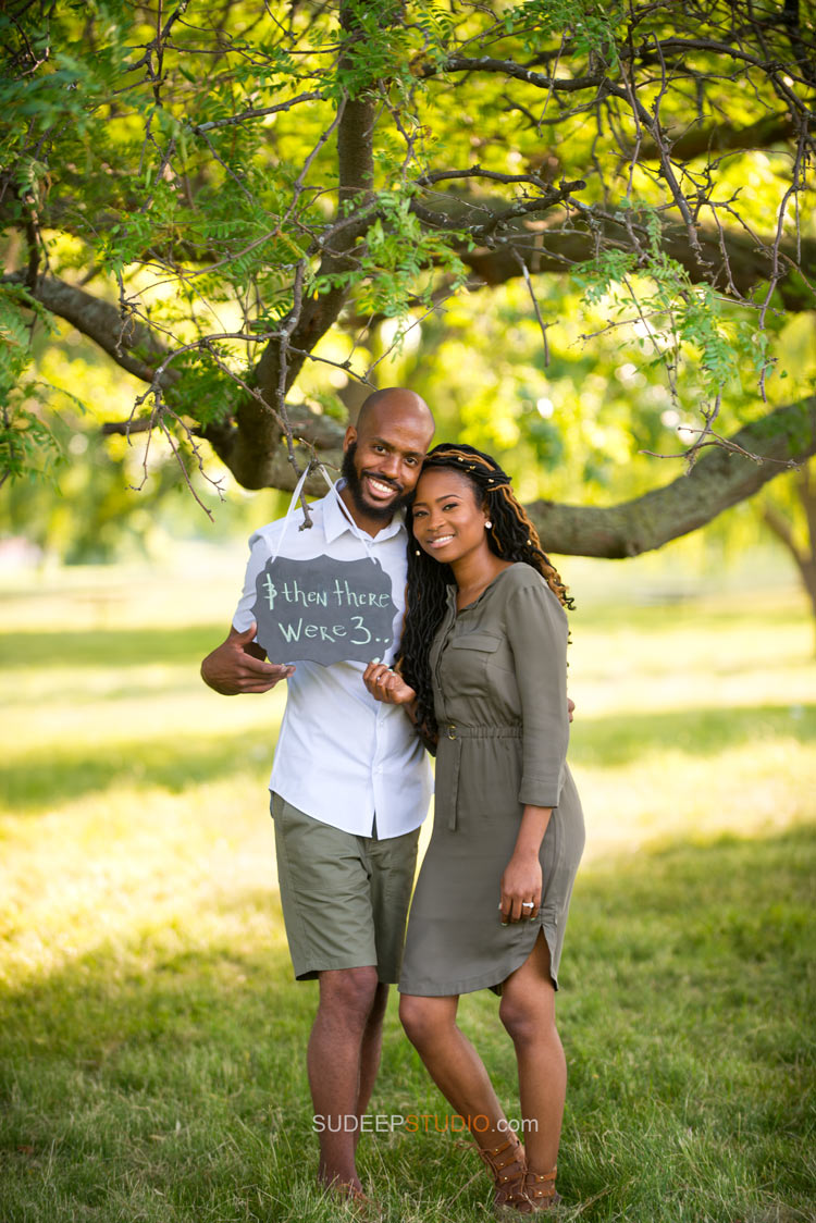 Baby Announcement Pregnancy Announcement photos Ann Arbor Photographer Sudeep Studio