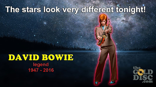 IT'S A GOD AWFUL SAD AFFAIR!! - THE DAY THAT BOWIE DIED
