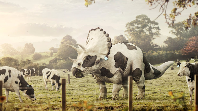 Triceracow - 3D Art Animals 1920x1080 HD