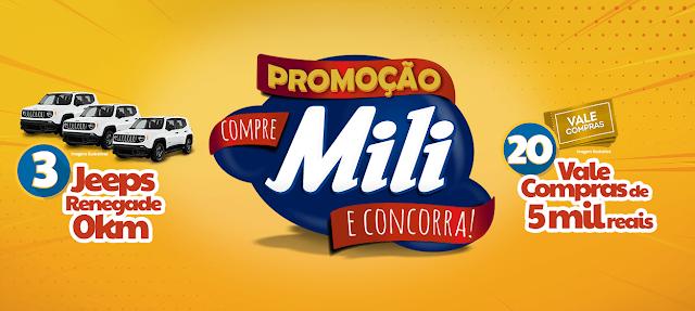 promoção mili