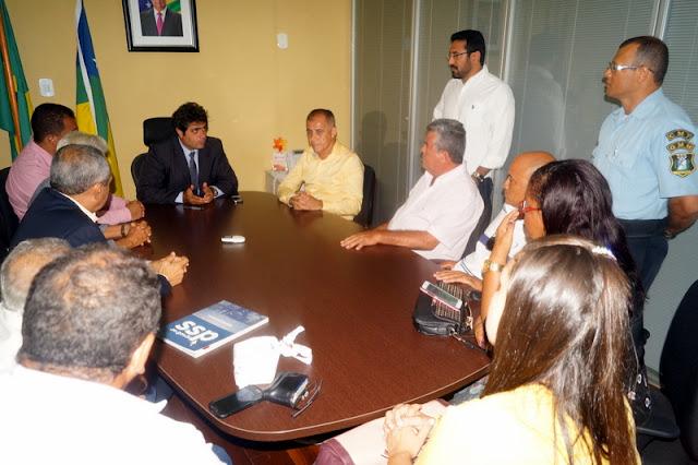Autoridades de Maruim solicitam reforço policial na SSP