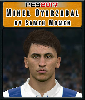 PES 2017 Faces Mikel Oyarzabal by Sameh Momen