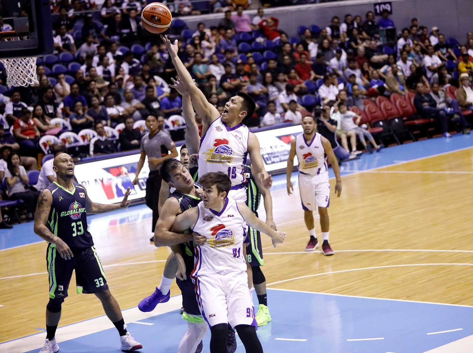 Magnolia snaps skid with rout of GlobalPort