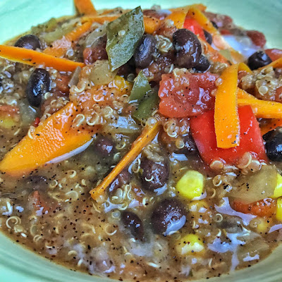 vegan chili recipe, bean chile, black bean and quinoa chile, vegan, vegan recipes, veganism, fall vegan recipes, chile, recipe, jaime messina, recipe thursday