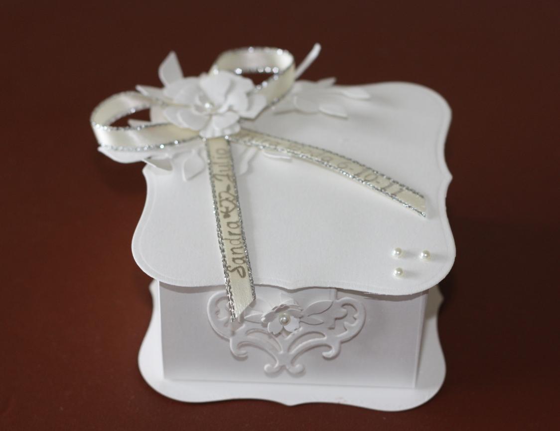 Creations By SAZ: Wedding Gift Box