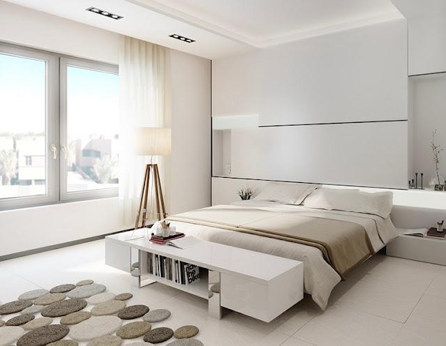 Decorar quarto 30 ideias de estilo minimalista for Dormitorio principal m6 deco