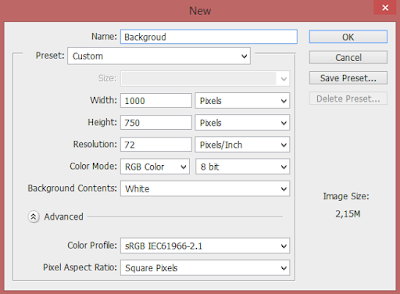 Cara Membuat Backgroud Gradasi (Shadow) di Photoshop 15