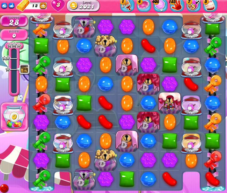 Candy Crush Saga 2021