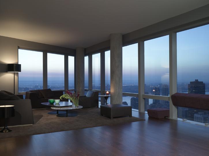 Open41 attico new york di lusso for Foto appartamenti moderni