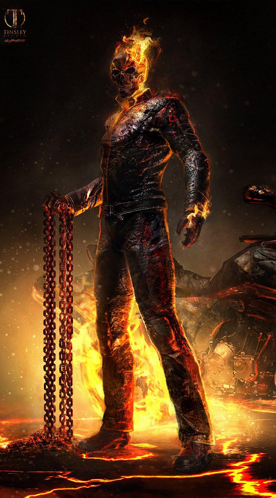 Ghost Rider Spirit of Vengeance designs