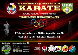 2º Campeonato Aberto de Karate