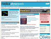 A screenshot of medicalphysicsweb