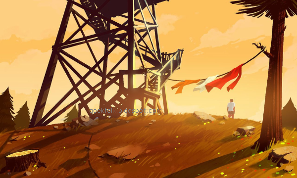 The making of Firewatch