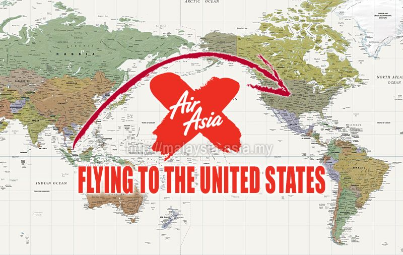 USA AirAsia X Flights