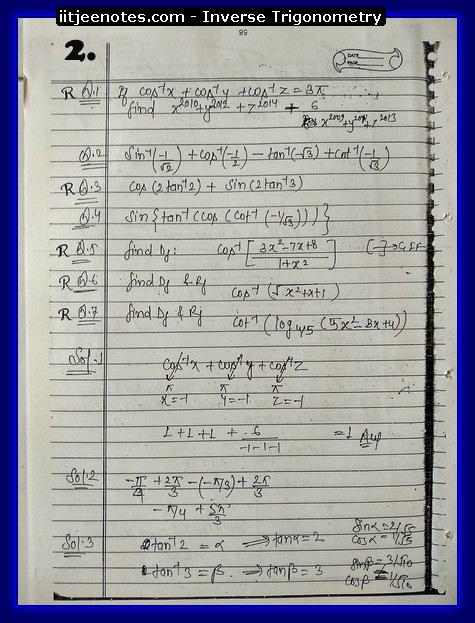 inverse trigonometry2