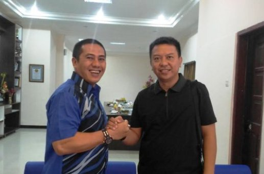 Basli Dan Ical, Silaturahim Di Makassar