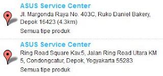 Service Center ASUS depok