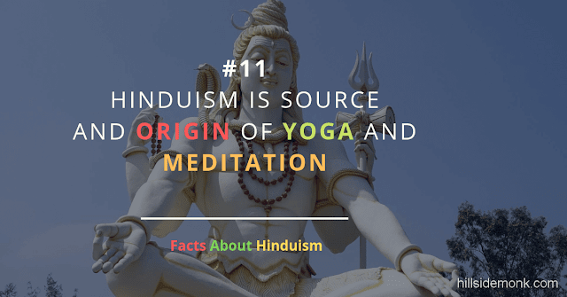 Fact About Hinduism 11 SHIVA ADIYOGI MEDITATION