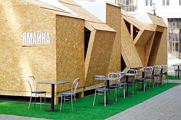 Desain Cafe Outdor